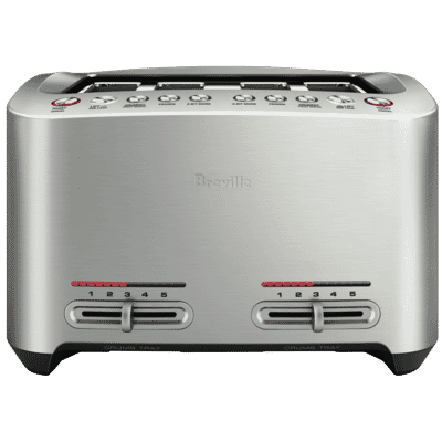 Breville - The Smart 4 Slice Toaster - Brushed Stainless Steel