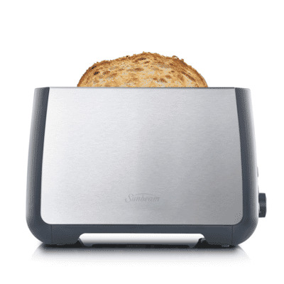 Sunbeam - Long Slot 2 Slice Toaster - Stainless Steel