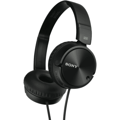 Sony - ZX110NC Headband Type Noise Cancelling On Ear Headphones - Black