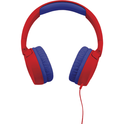 JBL - JR300 Kids On Ear Headphones - Red
