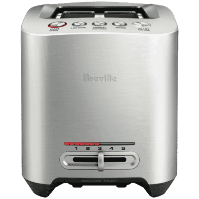 Breville - the Smart Toast 2 Slice - Brushed Stainless Steel